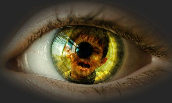 occhi, uomo , bambino