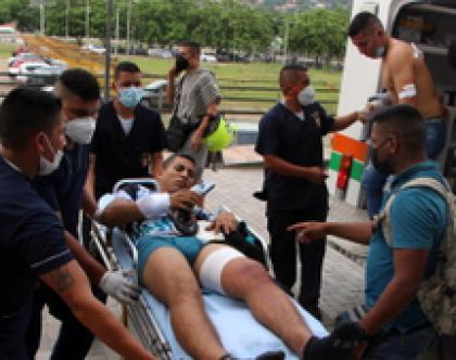 Colombia, bombe, feriti