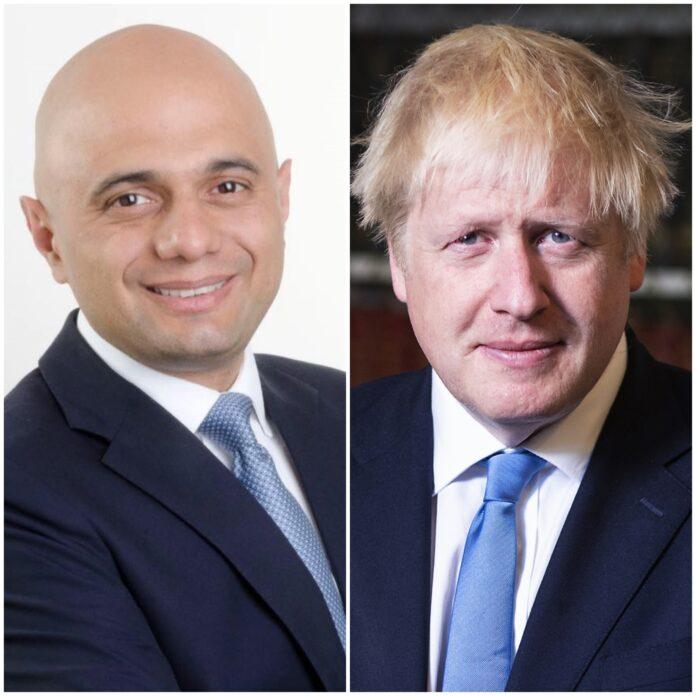 Boris Johnson, Sajid Javid