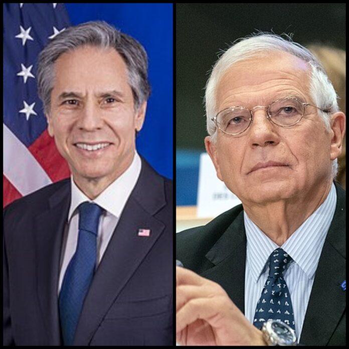 Anthony Blinken e Josep Borrell