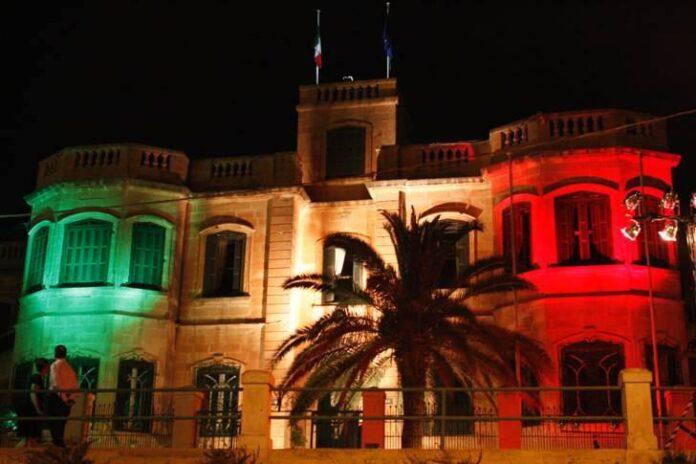 L'ambasciata italiana La Valletta