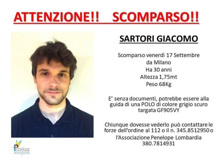 Giacomo Sartori morto