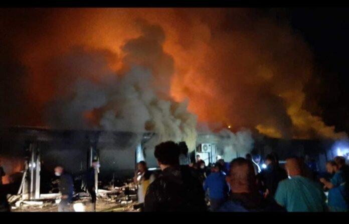 Incendio macedonia