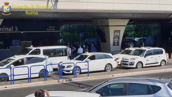 guardia di finanza roma taxi aeroporto