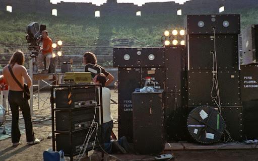"""Il 50esimo anniversario di """"Pink Floyd: Live at Pompeii"""": un pezzo di storia per l'Italia"""